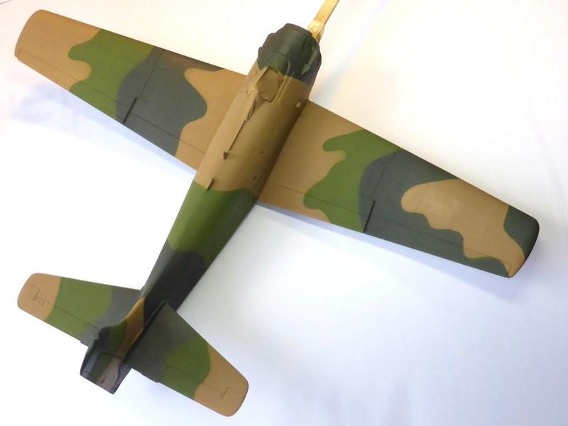 [TAMIYA] Douglas A1 Skyraider: rénovation d'un souvenir - Page 3 Skyr4310