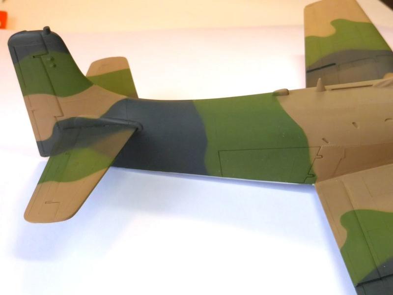 [TAMIYA] Douglas A1 Skyraider: rénovation d'un souvenir - Page 3 Skyr4510