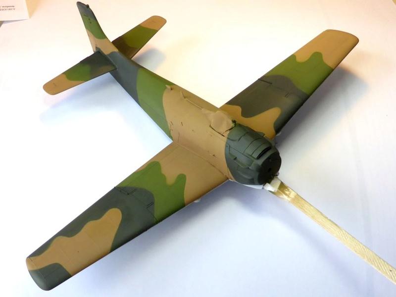 [TAMIYA] Douglas A1 Skyraider: rénovation d'un souvenir - Page 3 Skyr4610