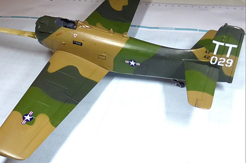 [TAMIYA] Douglas A1 Skyraider: rénovation d'un souvenir - Page 3 Skyr5510