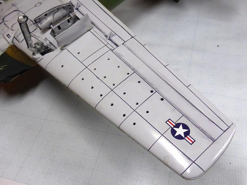 [TAMIYA] Douglas A1 Skyraider: rénovation d'un souvenir - Page 3 Skyr5610
