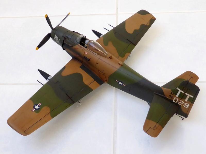 [TAMIYA] Douglas A1 Skyraider: rénovation d'un souvenir - Page 4 Skyr6510