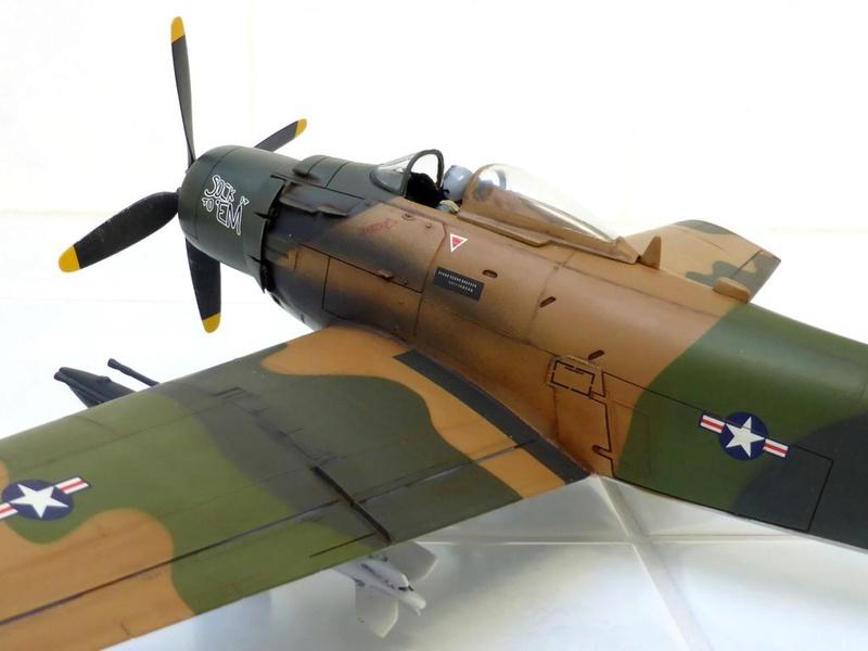 AD-4 Skyraider n°123895 /SFERMA 110 de l'EC 3/20  (Tamiya 1/48) - Page 2 Skyr6610