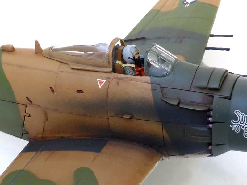 [TAMIYA] Douglas A1 Skyraider: rénovation d'un souvenir - Page 4 Skyr6810