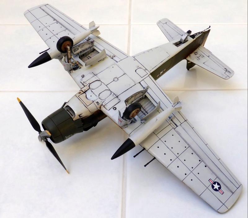 [TAMIYA] Douglas A1 Skyraider: rénovation d'un souvenir - Page 4 Skyr7210