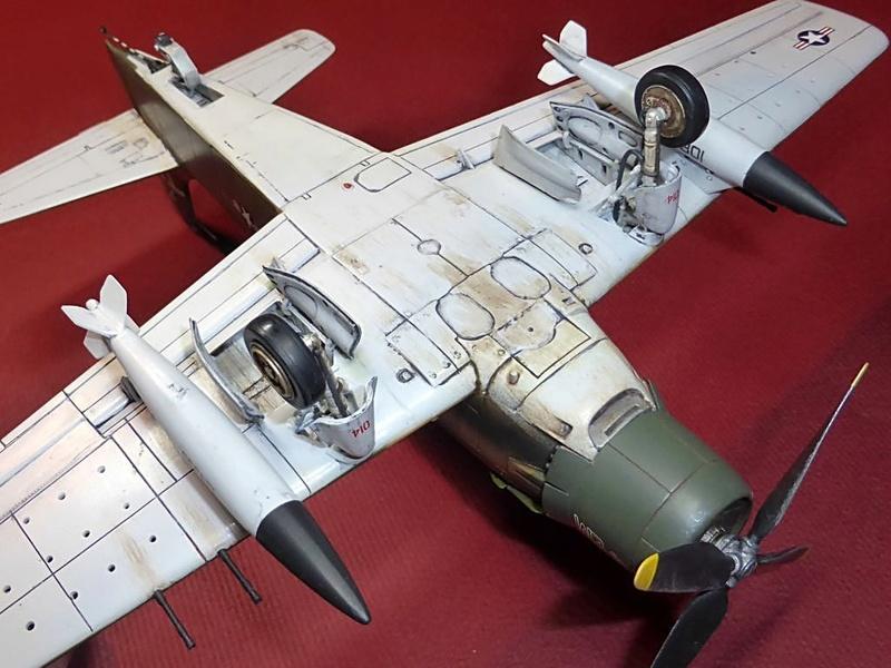 [TAMIYA] Douglas A1 Skyraider: rénovation d'un souvenir - Page 4 Skyr8110
