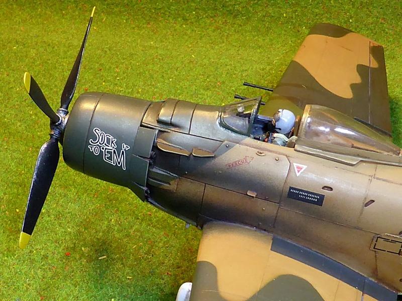 [TAMIYA] Douglas A1 Skyraider: rénovation d'un souvenir - Page 4 Skyr8610