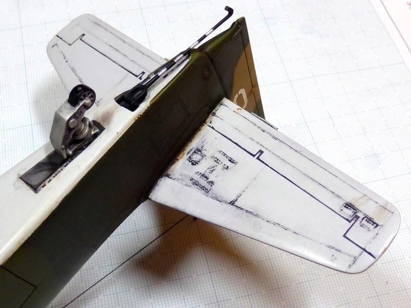 [TAMIYA] Douglas A1 Skyraider: rénovation d'un souvenir - Page 5 Skyr8810
