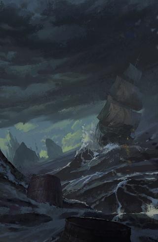 Journal de cuir sombre Storm_11