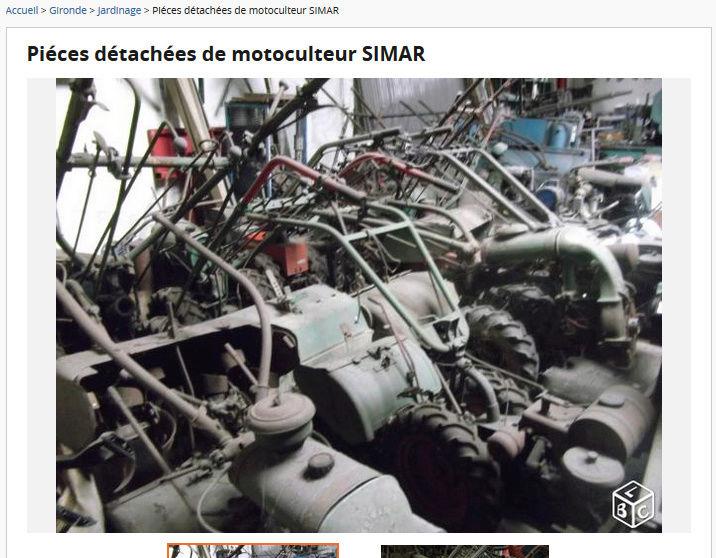 simar - pièces motoculteur SIMAR Captur12