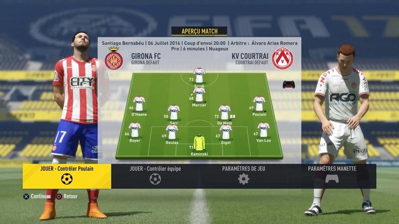 [FIFA 17- carrière pro] Ludovic Poulain 14706911