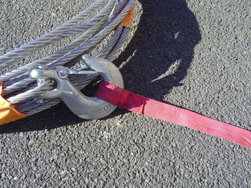 cable et ecubier pour treuil 6 tonnes .... Dsc00524