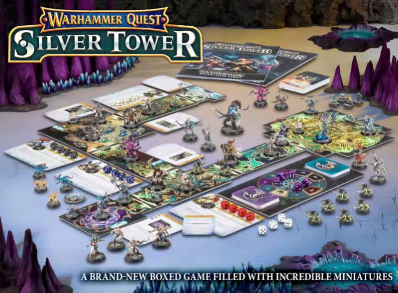 Warhammer Quest - Silver Tower Silver10