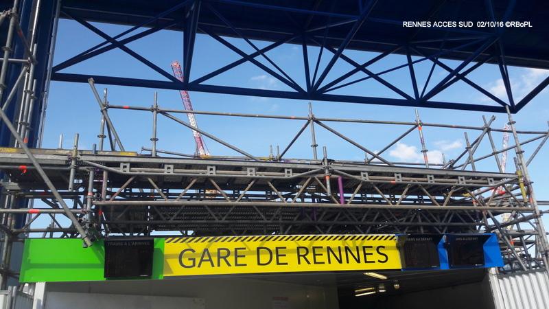 GARE DE RENNES Etat travaux (03/10/16) 20161017
