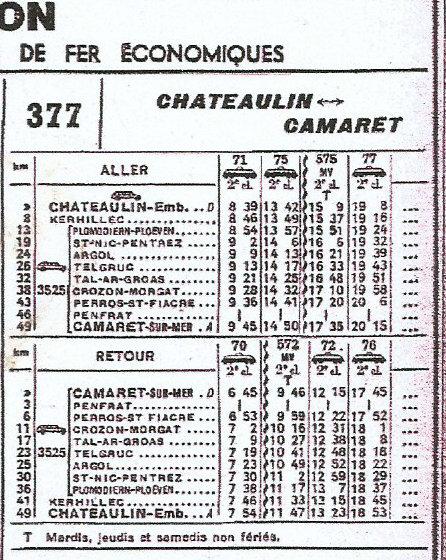 HORAIRES ETOILE DE CARHAIX (RB) 1962-1974/75 Scan-013
