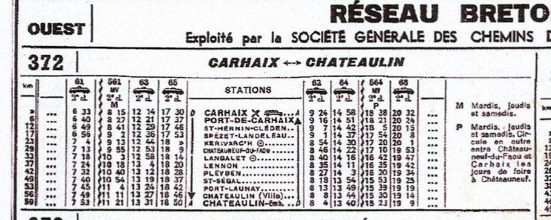 HORAIRES ETOILE DE CARHAIX (RB) 1962-1974/75 Scan-014