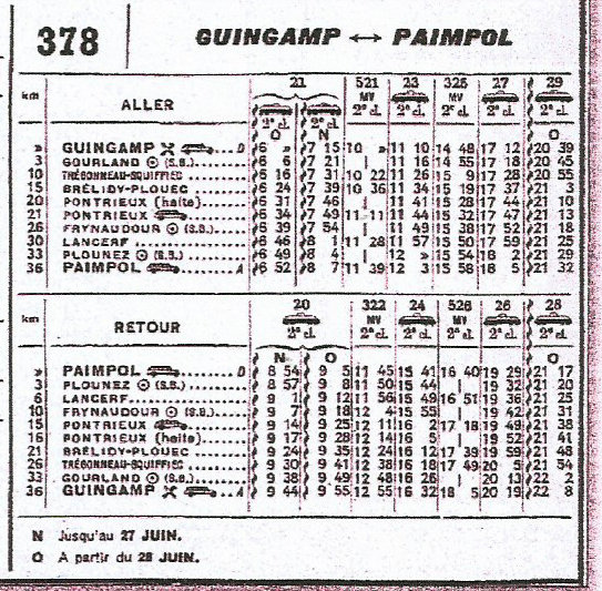 HORAIRES ETOILE DE CARHAIX (RB) 1962-1974/75 Scan-015