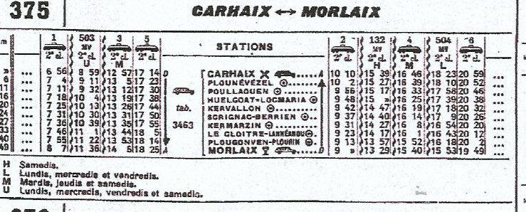 HORAIRES ETOILE DE CARHAIX (RB) 1962-1974/75 Scan-016