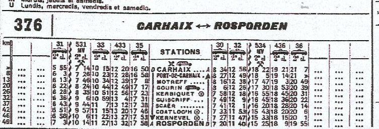 HORAIRES ETOILE DE CARHAIX (RB) 1962-1974/75 Scan-017