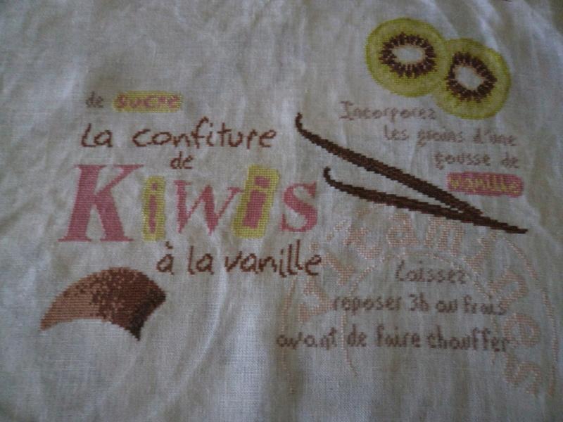 Confiture de kiwis - début 26 mars 1010