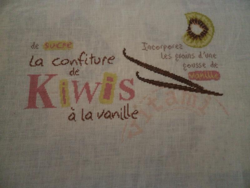 Confiture de kiwis - début 26 mars 711