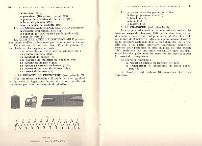 Manuel technique du FN browning GP 35 - différents types Numyri17