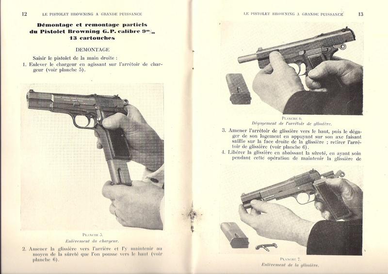 Manuel technique du FN browning GP 35 - différents types Numyri20