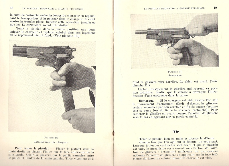 Manuel technique du FN browning GP 35 - différents types Numyri27