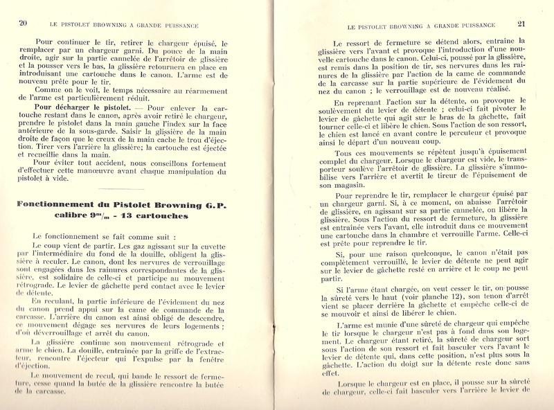 Manuel technique du FN browning GP 35 - différents types Numyri28