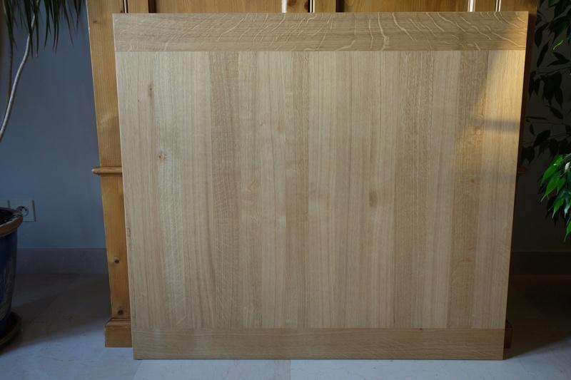 Table de salle à manger en chêne Dsc00913