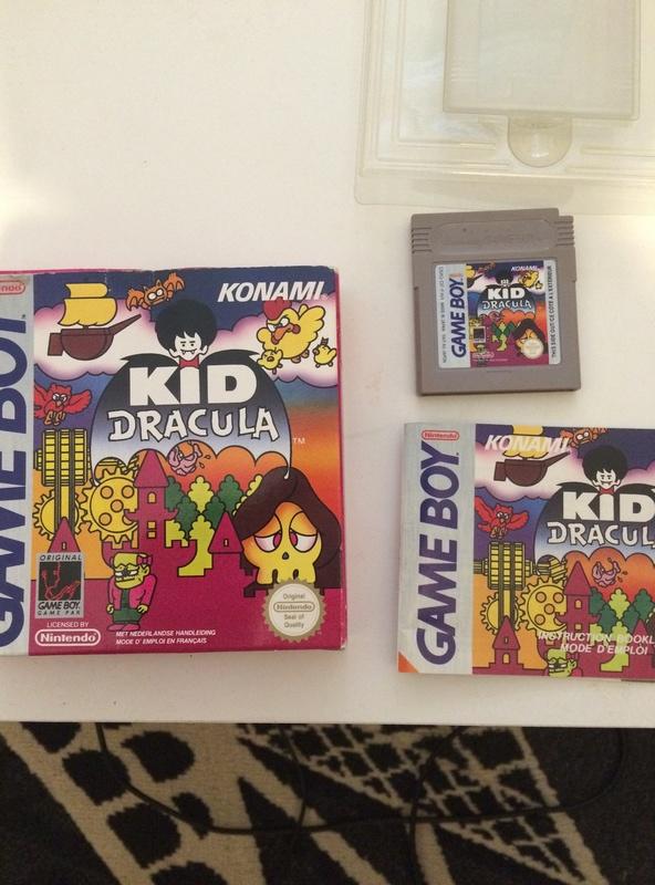 [EST] Kid Dracula FAH game boy Img_3510