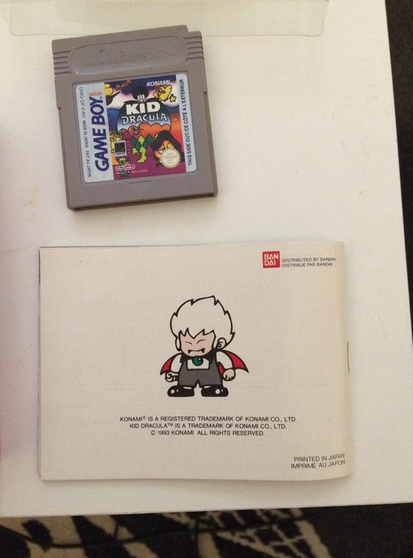 [EST] Kid Dracula FAH game boy Img_3512