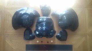 Andy Tie fighter helmet kit 20160912
