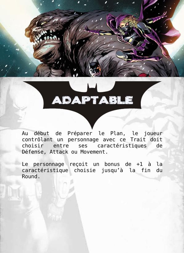 [WIP] Cartes à imprimer pour les traits spéciaux Adapta11