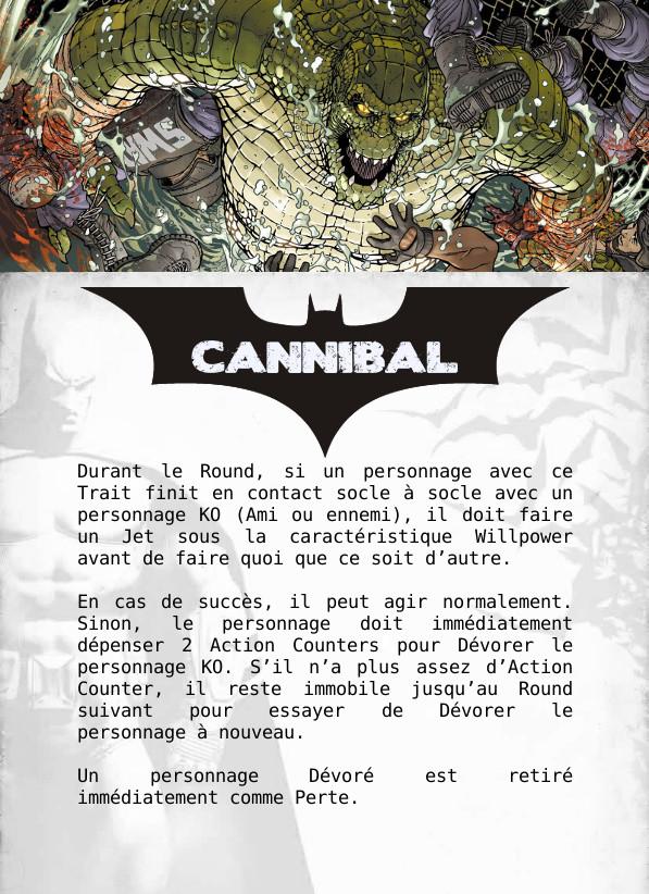 [WIP] Cartes à imprimer pour les traits spéciaux Cannib11