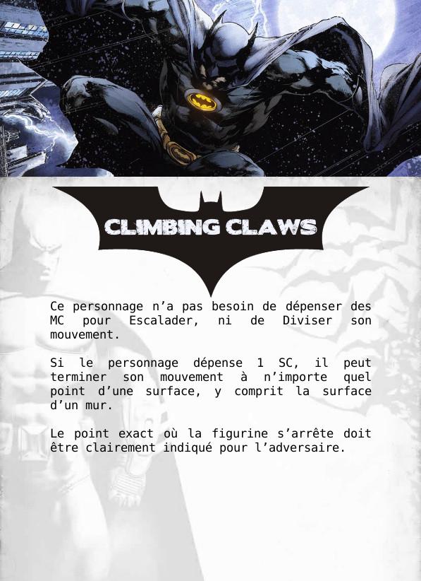 [WIP] Cartes à imprimer pour les traits spéciaux Climbi10