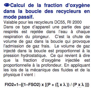 DC55, fraction O2 de la boucle Captur11