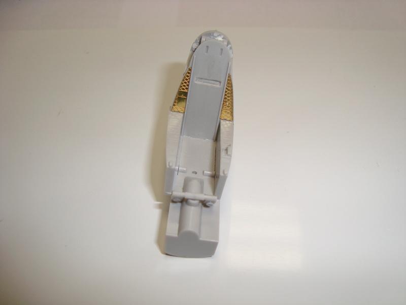 A-4 E Skyhawk - 1/ 48° Pont d'envol fait - Avion fini - accessoires de pont en confection. Dsc01821