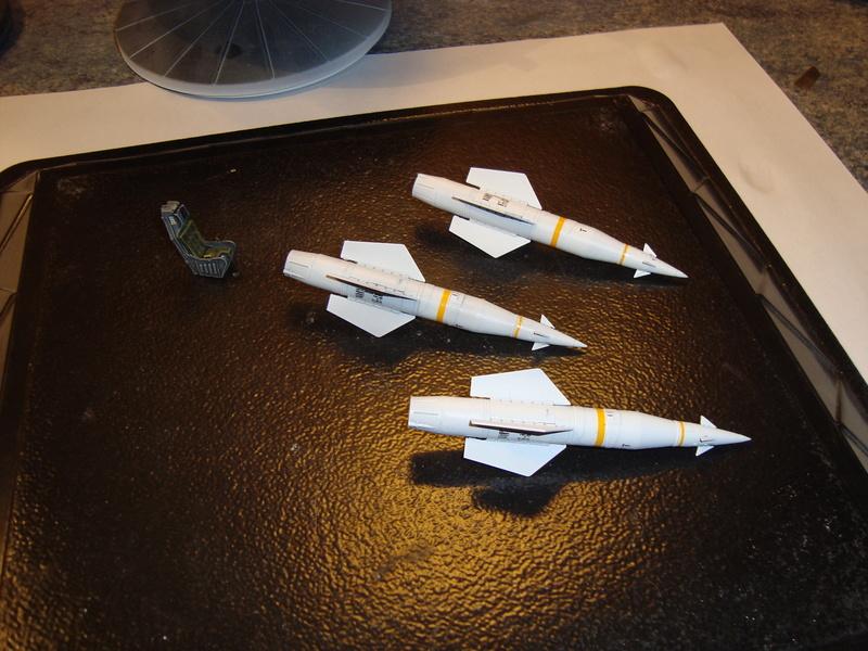 A-4 E Skyhawk - 1/ 48° Pont d'envol fait - Avion fini - accessoires de pont en confection. - Page 2 Dsc01833