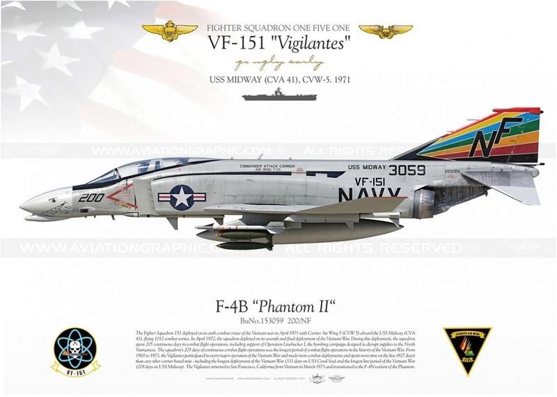 F-4 B Phantom 1/48° - VF-51 - 1972 - Début de patine. - Page 2 F-4b-p10