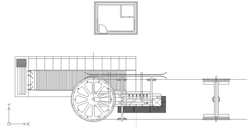 Dessins techniques, Plans 2D remontées mécaniques Tsf4_210