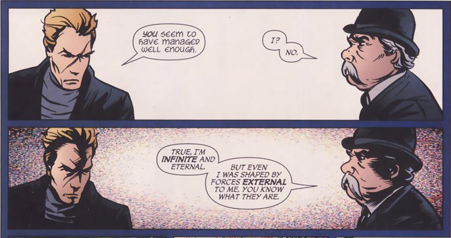 The Presence (DC Comics) and The Presence (Vertigo Comics) Extern10
