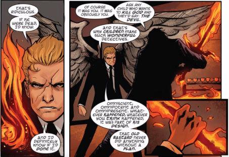 The Presence (DC Comics) and The Presence (Vertigo Comics) Omni10