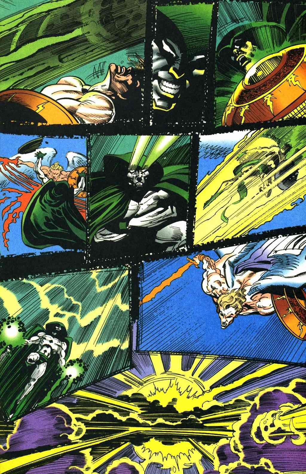 The Presence (DC Comics) and The Presence (Vertigo Comics) Spectr10