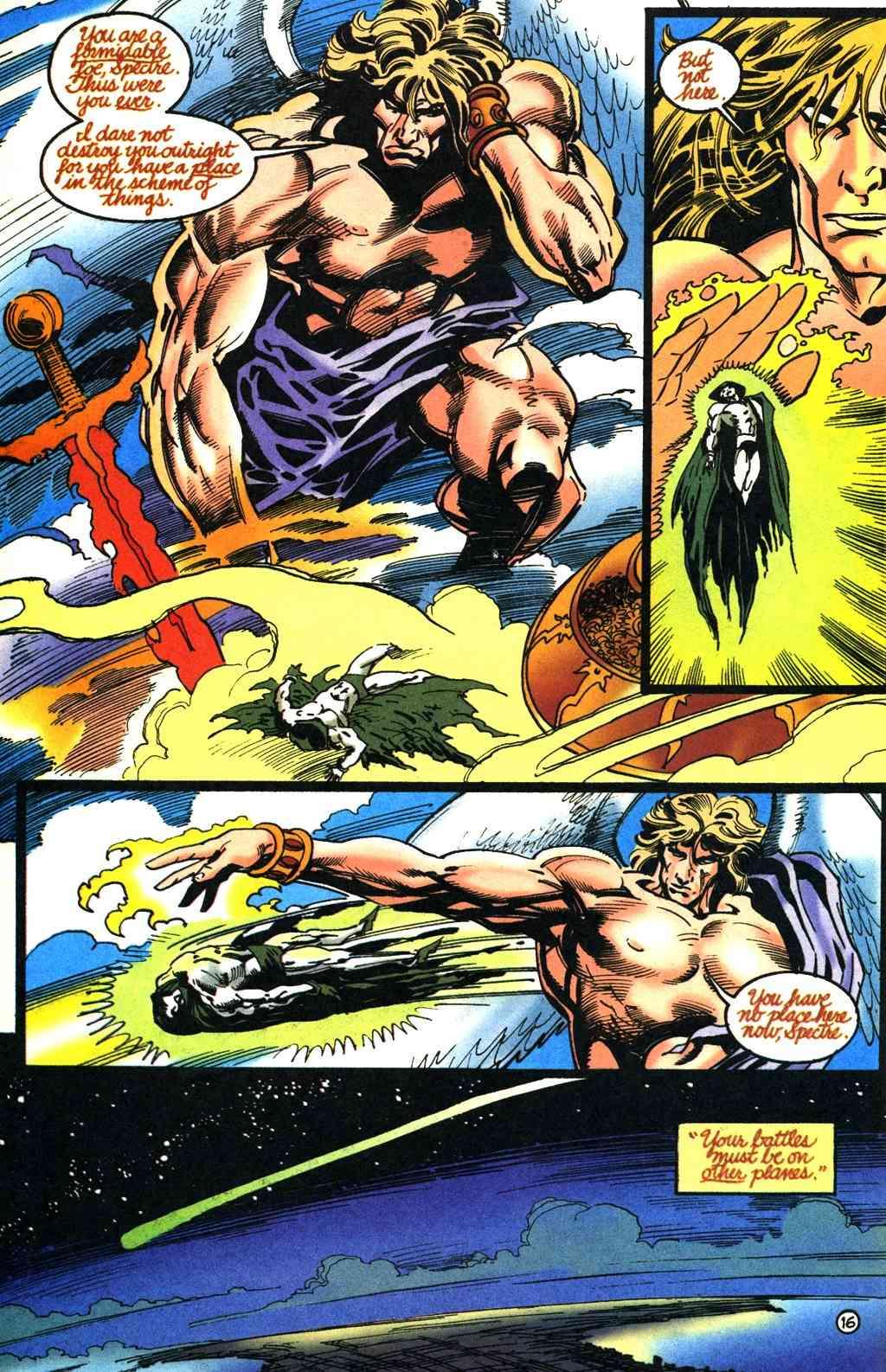 The Presence (DC Comics) and The Presence (Vertigo Comics) Spectr11