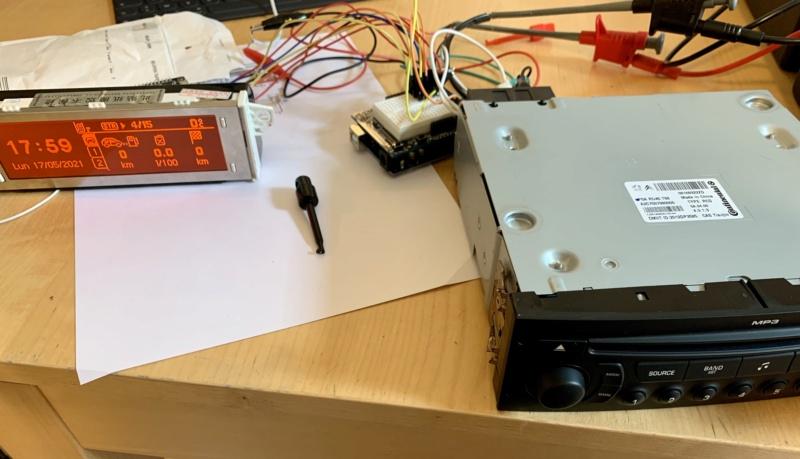 RD45 avec un nouveau module qui remplace le V2C Eaac0910