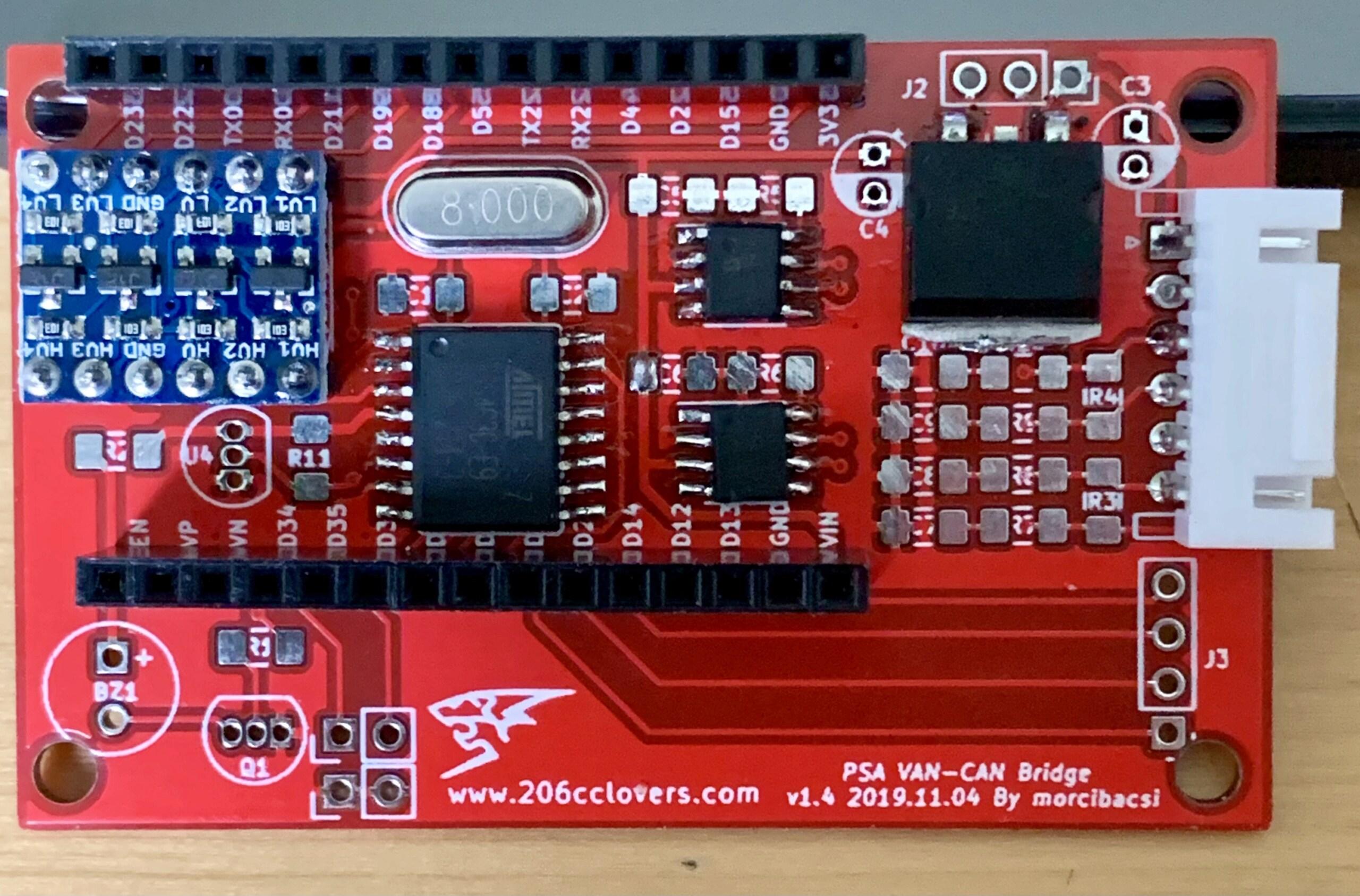RD45 avec un nouveau module qui remplace le V2C Img_3310