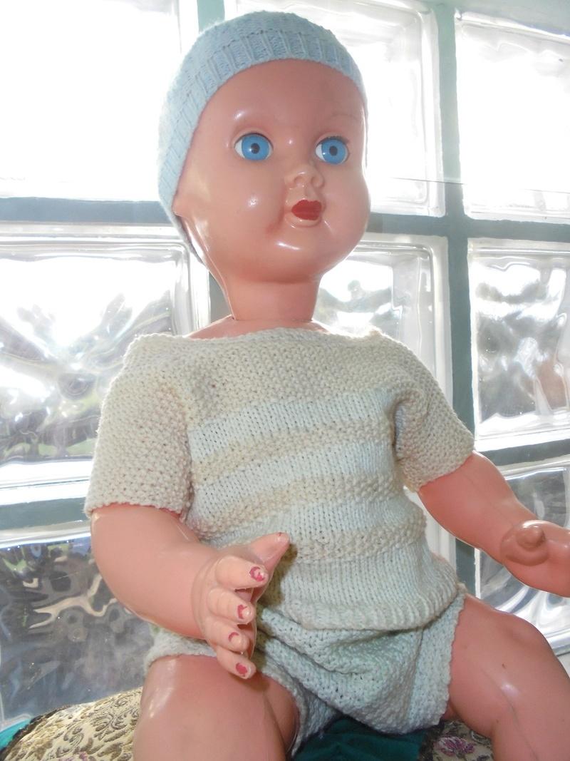 antico bambolotto in celluloide anni 50/60 Dsc04622