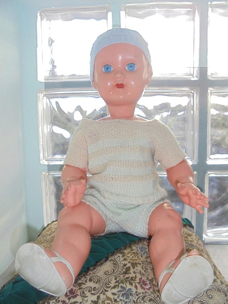 antico bambolotto in celluloide anni 50/60 Dsc04623