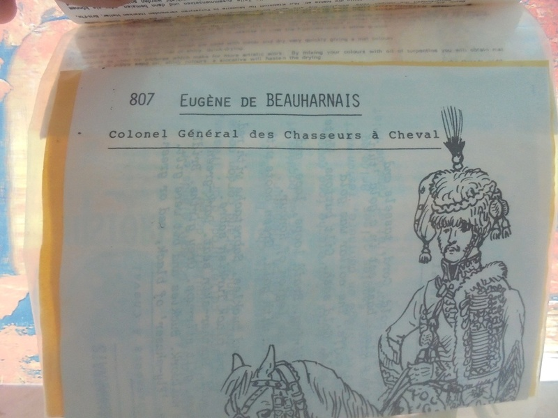 Kit montaggio soldatini historex anni 70 n.807A-807B Dsc05528